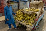 Sale of bananas, Swat