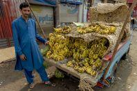 Sale of bananas, Swat