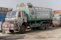 Colorful truck, Waziristan