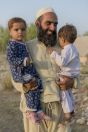 Father with children, Ghoriwala