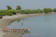 Boat on Indus