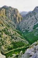 Velika Paklenica canyon