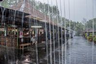 Heavy rain, Damai Santubong