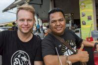 S taxikářem, Kuching
