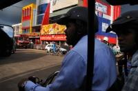 View from tuk tuk, Negombo