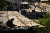 Roti drying, Colombo