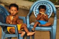 A children, Tissamaharama