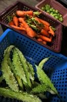 Vegetable selling, Ella