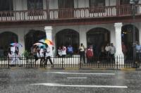 Rain again, Kandy