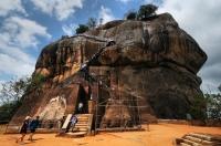 The Lion Gate and final climbing stretch, Sigiriya