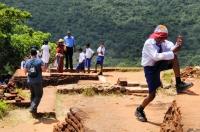 Summit of the Sigiriya rock