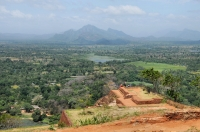 View from the summit of the Sigiriya rock