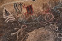 Indiánské petroglyfy, Joshua Tree NP