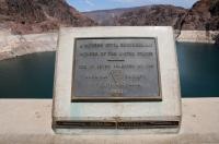 Hoover Dam - mezi Arizonou and Nevadou