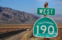 Západ USA 2012
