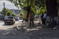 Street life, Perechyn