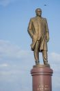 Karimov statue, Samarkand