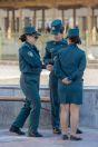 Policie, Samarkand