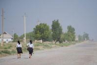 Into to school, Dzharkurgan