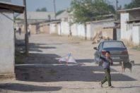 Boy with a kite, Dzharkurgan