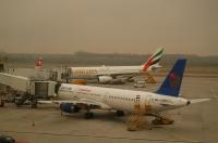 Na letišti ve Vídni