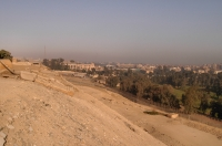 Vicinity of pyramids, Giza