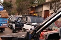 V káhirském taxi