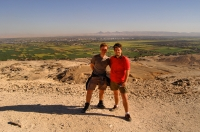 With Thomas near Luxor
