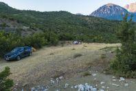 Camp, Nemërçkë Mts.
