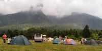 Camp, NP Llogarë, Cikës Mts.