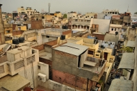 From the roof, Main Bazar