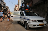 Odjezd z Main Bazaru