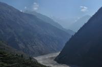Himálaj ve směru Gangotri.