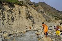 Osvěžení u přítoku Gangy