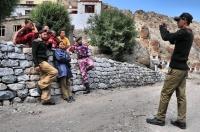 Army at Hemis Monastery
