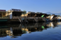 Houseboats, the floating luxury hotels in Dal Lake