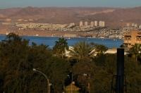 Eilat z Jordánska.