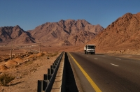 Na cestě do Wadi Ram.