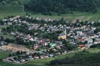 Muran village from Muráň castle