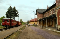 Lednice railway station.